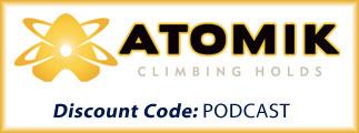Atomik Climbing Holds