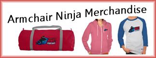 Armchair Ninja Merchandise