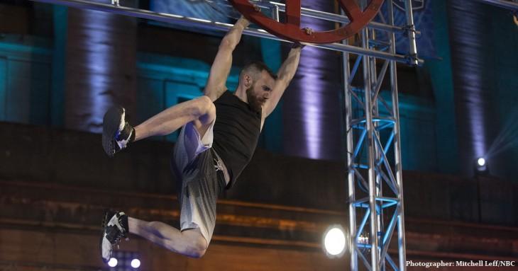 "AMERICAN NINJA WARRIOR -- ""Philadelphia Qualifier"" -- Pictured: Ryan Stratis -- (Photo by: Mitchell Leff/NBC)"